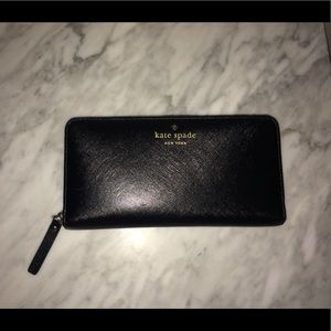 Kate Spade Wallet (Black)
